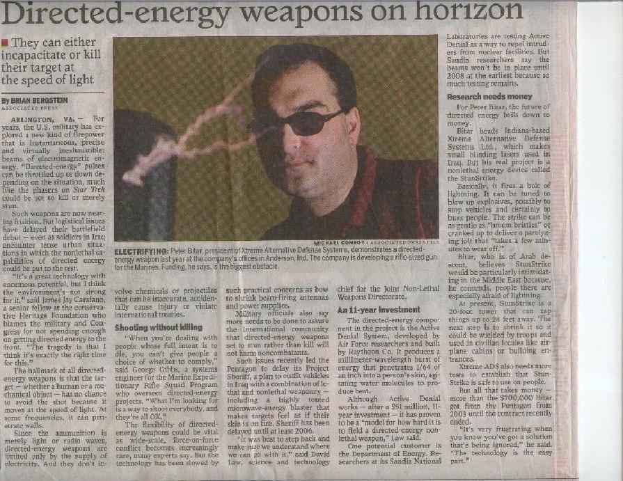 Houston Chronicle Article