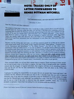 Myron May's Letter