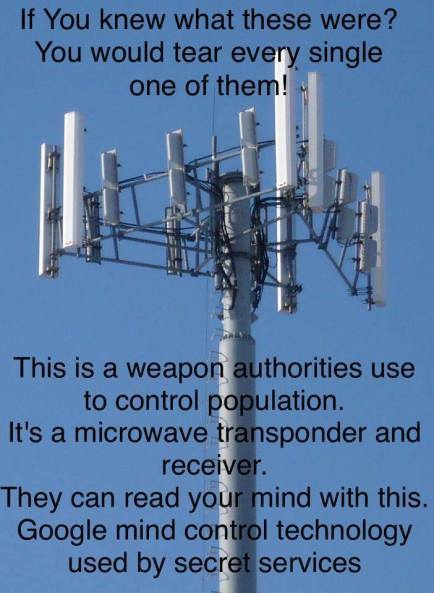 Cell Microwave Tower