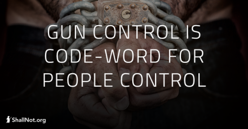 Gun Control People Control