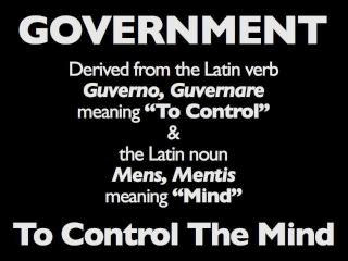 Government to Control the Mind-edited