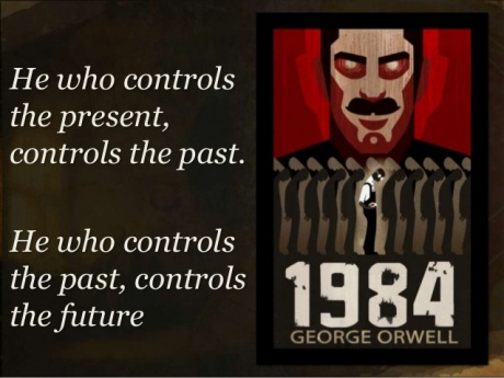 He who control the past