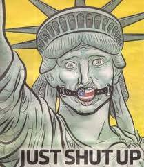 Statue of liberty shut up