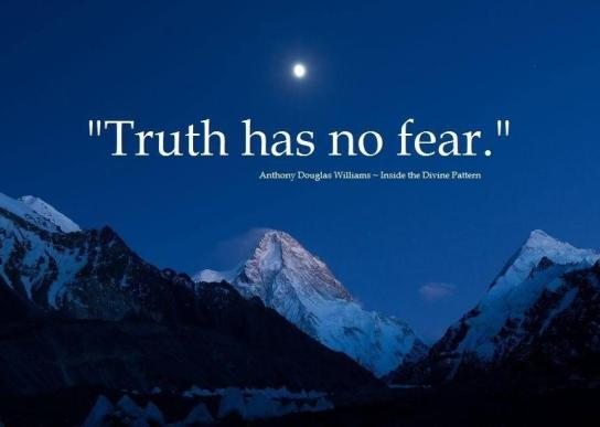 Truth Has no Fear