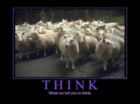 think sheeple