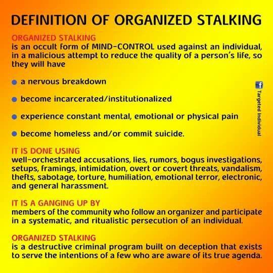 a stalking