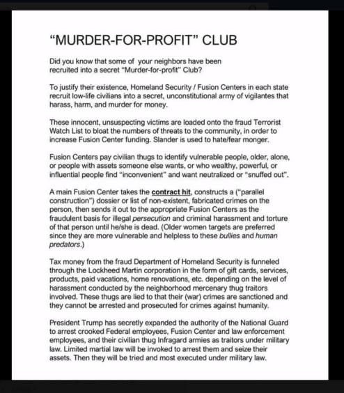 Murder Profit